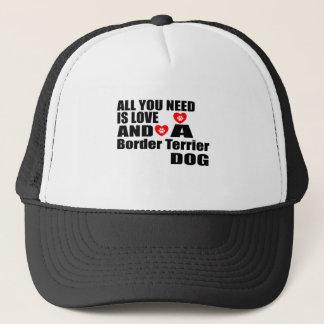 Casquette Tous vous avez besoin des conceptions de chiens de
