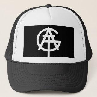 Casquette Tout le bon logo des choses AGT dans le noir