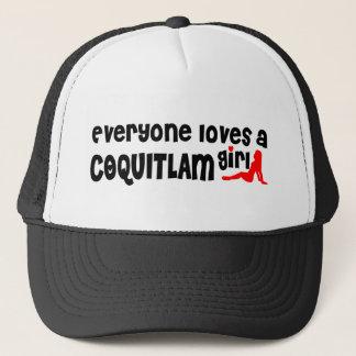 Casquette Tout le monde aime une fille de Coquitlam