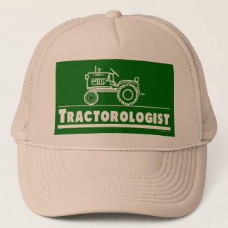 Casquette Tracteur vert Ologist