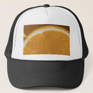 Casquette tranche orange ouais