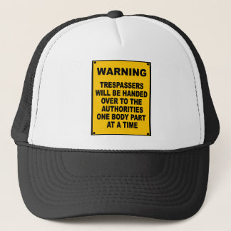 Casquette Transgresseurs d'avertissement