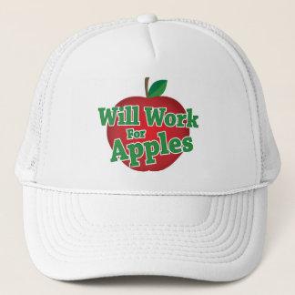 Casquette Travaillera pour des pommes