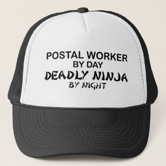 Casquette Travailleur postal Ninja mortel