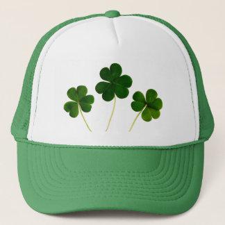 Casquette Trèfle irlandais vert St Patrick de trinité