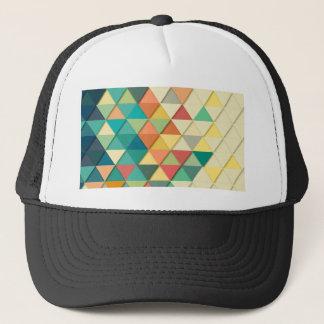 Casquette Triangle géométrique