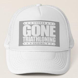 Casquette TRIATHLONING ALLÉS - Un Triathlete fier et