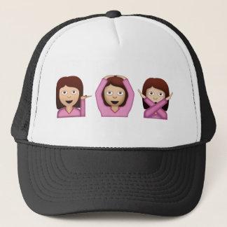 Casquette Trois filles Emoji