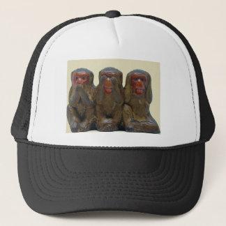 Casquette Trois singes sages