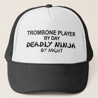 Casquette Trombone Ninja mortel par nuit