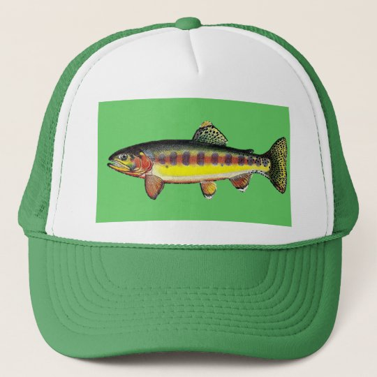 "Casquette Trucker ""Golden Trout"""