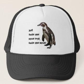 Casquette Trucker-Kappe pingouin 01