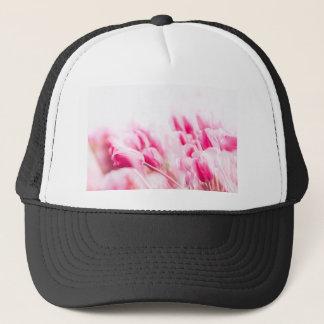 Casquette Tulipes roses