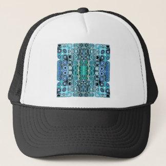 Casquette Turquoise et réflexions de Teal