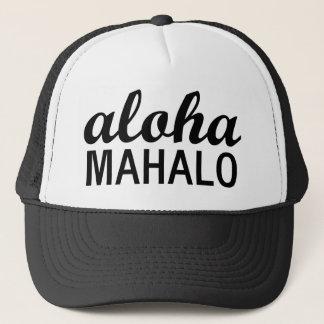 Casquette Typographie de Mahalo de classique Aloha