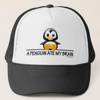 Casquette Un pingouin a mangé mon cerveau
