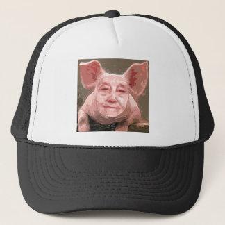 Casquette Un porc futé