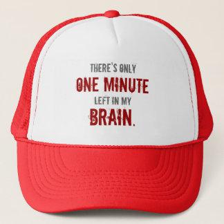 """Casquette """"Une gauche minute dans mon cerveau"""""""