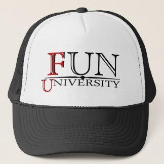 Casquette Université d'amusement cachée signifiant le
