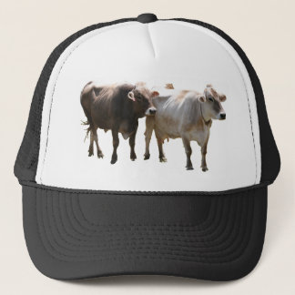 Casquette Vaches à Suisse de Brown