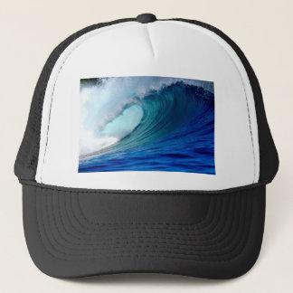 Casquette Vague surfante d'océan bleu