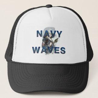 Casquette Vagues de marine de PIÈCE EN T