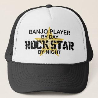 Casquette Vedette du rock de joueur de banjo par nuit