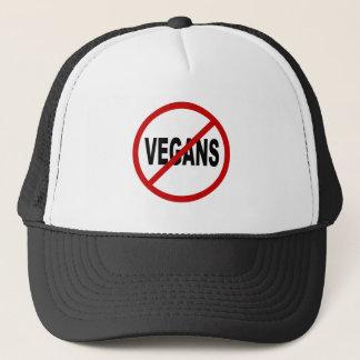 Casquette Végétaliens de la haine Vegans/No permis la