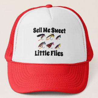 """Casquette """"Vendez-moi de petites mouches douces"""" pêchant"""