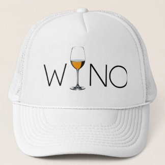Casquette Verre d'amateur de vin de Wino