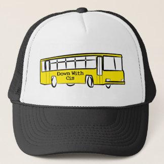 Casquette VERS LE BAS AVEC l'autobus CIS