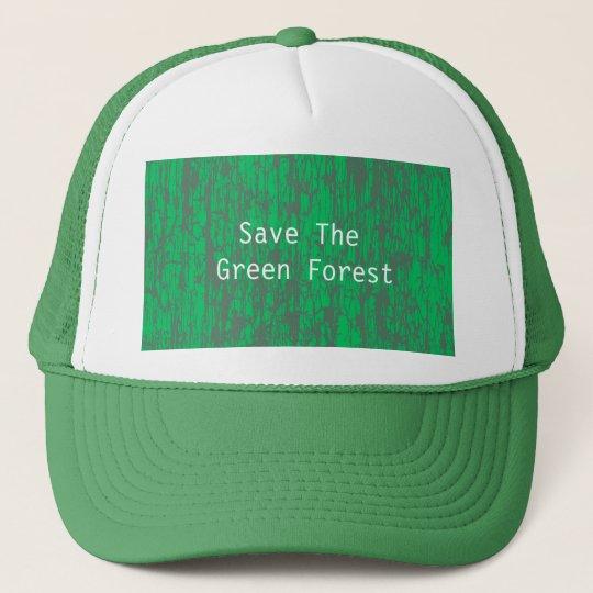 Casquette vert