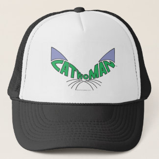 Casquette Vert de logo de Catwoman