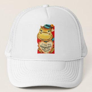 Casquette Vieil hippopotame vintage de Valentine