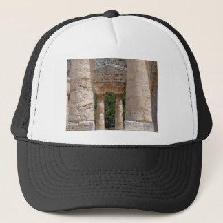 Casquette vieilles ruines de pierre