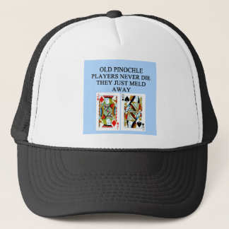 Casquette vieux joueur de pinochle