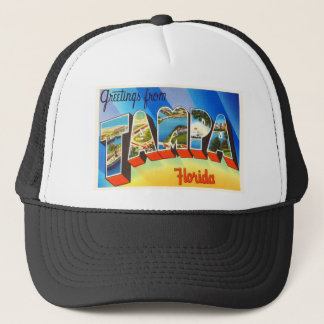 Casquette Vieux souvenir vintage de voyage de Tampa la