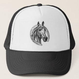 Casquette vintage de cheval et de fer à cheval