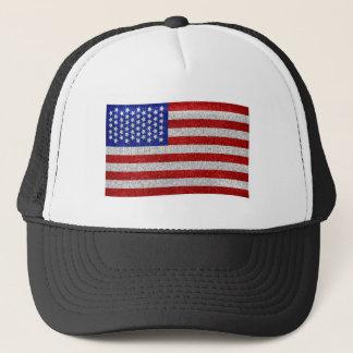 Casquette vintage de drapeau américain