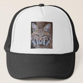 Casquette Visage de chat sauvage
