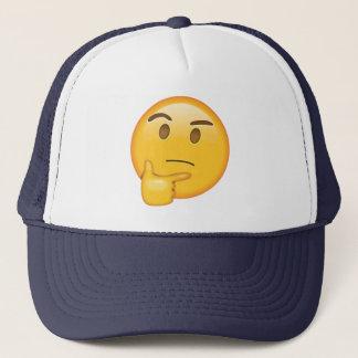 Casquette Visage de pensée - Emoji