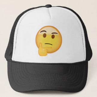 Casquette Visage de pensée Emoji