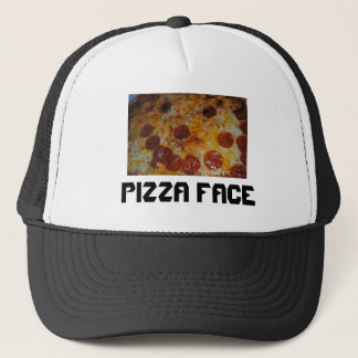 Casquette Visage de pizza