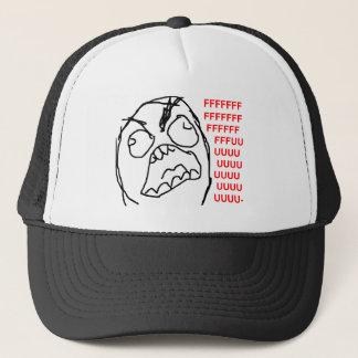 Casquette Visage fâché Meme de rage de Fuu Fuuu de type de