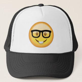Casquette Visage nerd Emoji