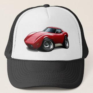 Casquette Voiture 1973-76 de rouge de Corvette