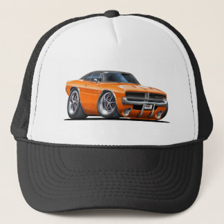 Casquette Voiture d'orange de chargeur de Dodge