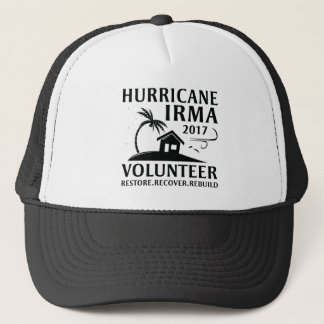 Casquette Volontaire d'Irma d'ouragan
