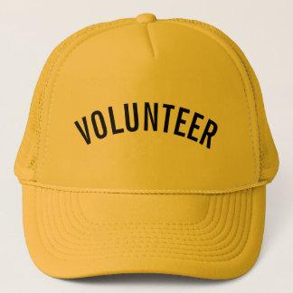 Casquette Volontaire jaune