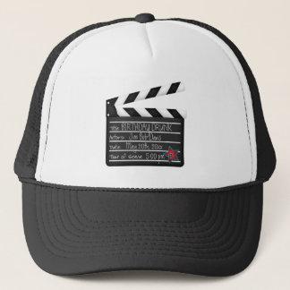 Casquette Vos mots personnalisent le bardeau de cinéaste